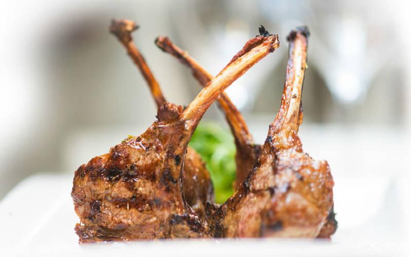 Vleesgerechten, lamskroontje
